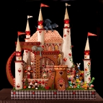 To vote for Alice in Wonderland Castle by Weber Thompson text JDRFCURE 6 to 20222