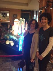 JoAnn and Miriam in front of the final product (MG2, Episode 1)